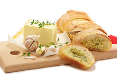 The French baguet stock photography
