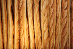 French baguette background Royalty Free Stock Photography