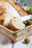 French baguette bread Royalty Free Stock Photo
