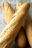French baguette bread group Stock Image