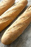 French baguette bread group Stock Photos