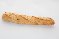 French baguette bread isolated Royalty Free Stock Photos