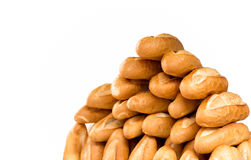 French Baguette bread isolated Stock Images