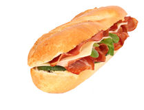 French baguette isolated Stock Photography