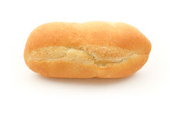 French Baguette on White Background Stock Image