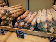 French Baguettes Bread Royalty Free Stock Photography