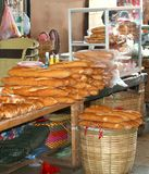 Characteristic original French baguettes, Laos Royalty Free Stock Image
