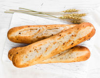 French baguettes Royalty Free Stock Photos