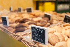 French baked goods. Royalty Free Stock Image