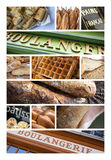 French bakery and pastry shop Royalty Free Stock Photography