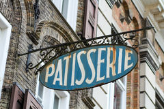 French bakery sign Stock Photography