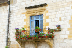 French balcony Royalty Free Stock Image