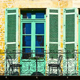 French Balcony Royalty Free Stock Image