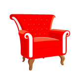 French Baroque furniture. Rococo armchair Stock Image