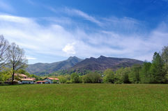 French basque mountains Stock Photo