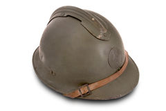 French battle helmet Royalty Free Stock Image