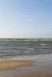 French beach. Of the city of Deauville Stock Photography