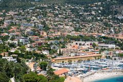 French beach resort Royalty Free Stock Photography