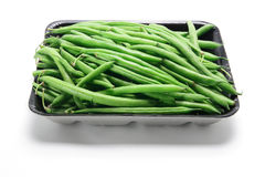 French Beans. On White Background Royalty Free Stock Images