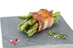 Green beans and pork Royalty Free Stock Image