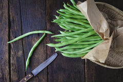 French Beans Stock Image