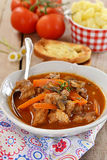 French beef stew with tomato sauce Stock Photo
