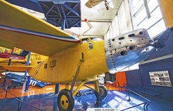 French big aircraft Bernard 191. French big aircraft at museum Bourget parked Stock Image