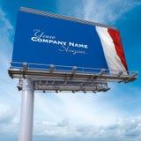 French billboard Stock Photos