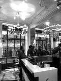French Bistrot Paris. French Bistrot Chez Jeannette Faubourg Saint Denis  Paris France Royalty Free Stock Photography
