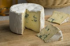 French Blue cheese for dessert Royalty Free Stock Image