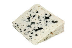 French blue cheese - Roquefort Stock Photography
