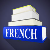 French Book Indicates Translate To English And Euro Royalty Free Stock Images