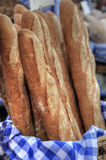 French Bread Stock Photo