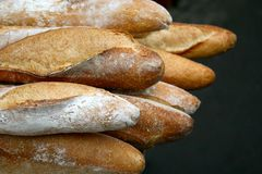 French bread Royalty Free Stock Images