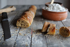 Free French Bread Royalty Free Stock Photo - 64043895