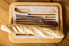 French bread baguette Stock Images