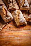 French bread baguettes Royalty Free Stock Photos