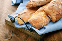 French bread baguettes Royalty Free Stock Images