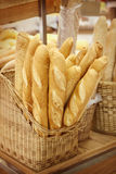 French bread. Closeup of some French baguette bread Royalty Free Stock Photo