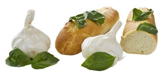 French Bread with Herbs Royalty Free Stock Image
