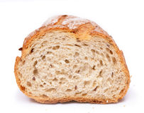 French bread isolated Royalty Free Stock Photos