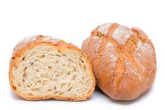 French bread isolated Stock Photography