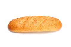French bread isolated on white Royalty Free Stock Image