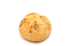 French bread rolls isolated. On white background royalty free stock images