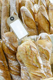 French bread on sell Royalty Free Stock Photo