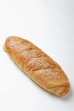 French Bread With Sesame Seeds. Loaf of homemade French bread with sesame seed topping Stock Photography