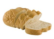 French Bread Sliced Royalty Free Stock Photography