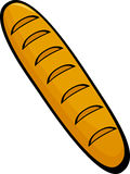 French bread vector illustration Royalty Free Stock Image