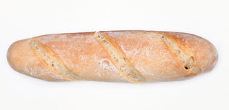 French bread. The view from the top. Stock Photos