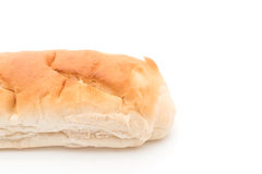 french bread on white Royalty Free Stock Images